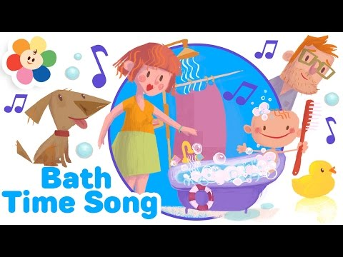Who Loves Bath Time? Songs for Kids | BabyFirst Original Nursery Rhymes for Toddlers | Kids Rhymes