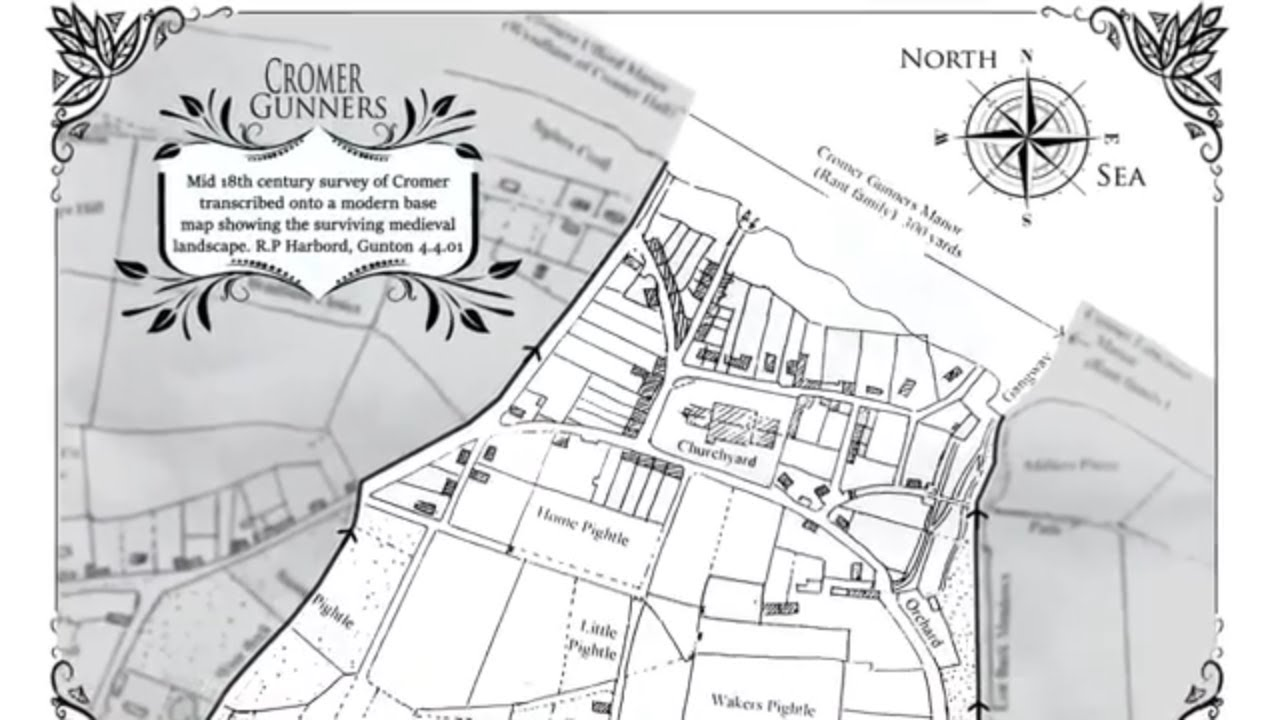 7.5 acres of Cromer beach plus a lordship, yours for £17,500 - YouTube