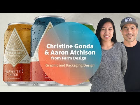 Live Graphic and Packaging Design with Farm Design - 1 of 3