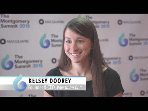 Kelsey Doorey, Vow to be Chic at The Montgomery Summit 2015