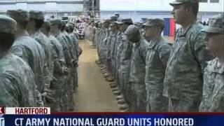 Honoring the CT National Guard for their service overseas