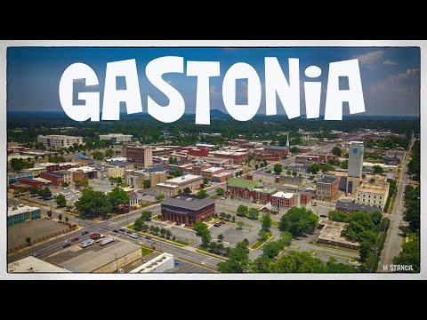 Gastonia, North Carolina (DJI Mavic Pro Footage)