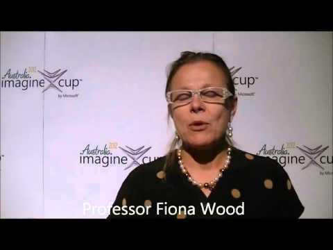 Fiona Wood Imagine Cup 2012 Sydney Australia