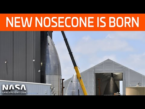 SpaceX Boca Chica - A New Nosecone Is Born - New Lots Readied For Expansion