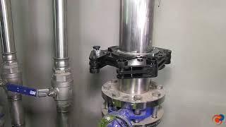 Ventajas del Pressfitting, unión mediante prensado mecánico de tubos de acero inoxidable