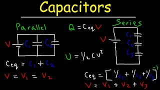 Capacitors in Series aฑd Parallel Explained!