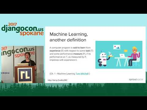 DjangoCon US 2017 -  Using Django, Docker, and Scikit... by Lorena Mesa