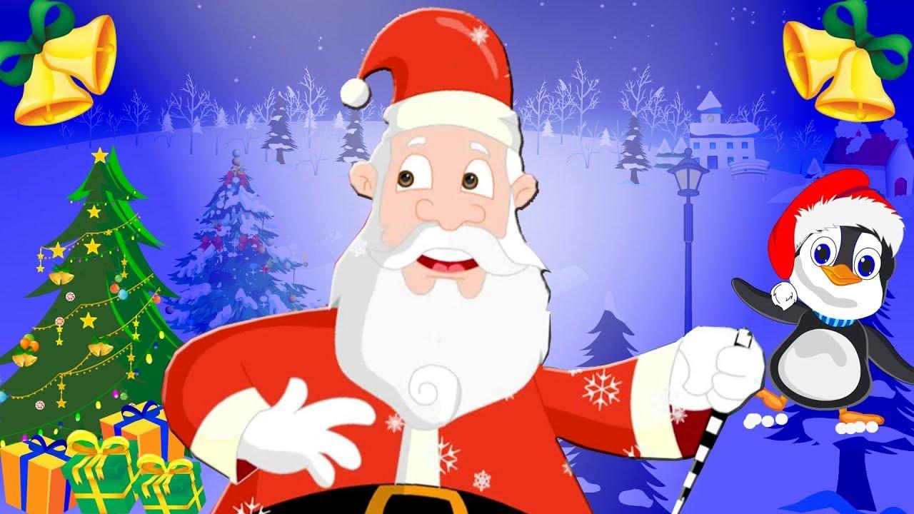 Christmas Songs for Kids, Jingle bells lyrics   Nursery Rhymes & Christmas Carols for Kids - YouTube