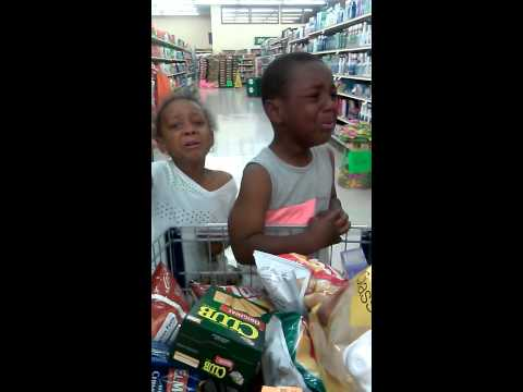 Little Black Kid Cursing Vine