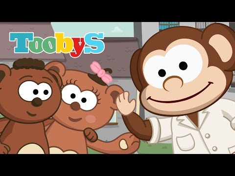 Song to say hello | Toobys | Your children's favorite videos