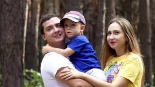Семейная прогулка 2019. Пикник с семьёй. Отдых на природе. 4K