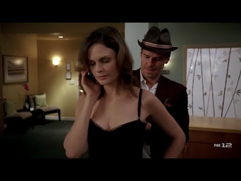 Download Bones 2x08 - Brennan wears a dress that Booth picked out for her