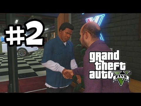 Grand Theft Auto 5 Part 2 Walkthrough Gameplay - Complications - GTA V Lets Play Playthrough