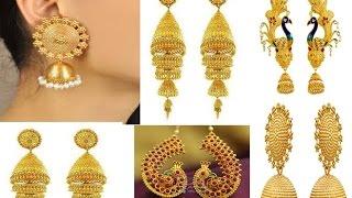 Latest Jhumka design | latest gold jhumka designs 2019 | latest jhumka designs in india
