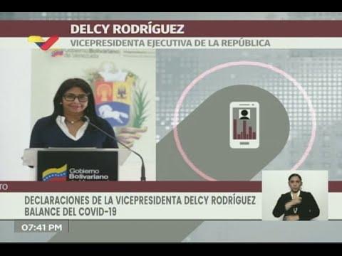 Reporte Coronavirus Venezuela, 10/06/2020: Delcy Rodríguez informa 106 casos, 89 vienen de Colombia