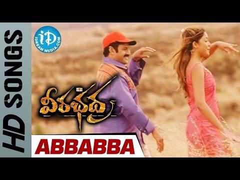 Abbabba Video Song - Veerabhadra Telugu Movie - Balakrishna || Tanushree Datta || Sada