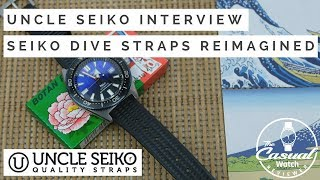 Who is Uncle Seiko? Keeping Vintage Dive Watch Straps Alive... An Interview