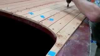 1946 Gar Wood Ensign Deck Planking Update 02 12 2015
