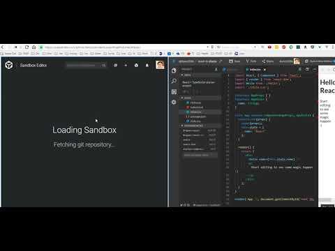 Stackblitz vs CodeSandbox feature differences - YouTube