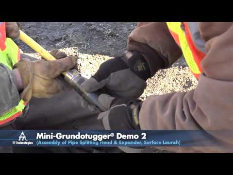 Mini-Grundotugger® Pull & Splitting Demo: Mini-Winch System