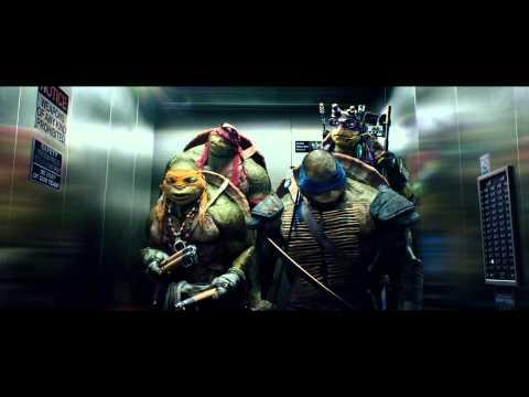"TEENAGE MUTANT NINJA TURTLES - Official Film Clip - ""The Elevator"" - Int. English"