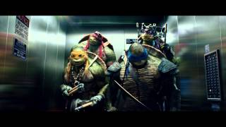 "TEENAGE MUTANT NINJA TURTLES - Official Film Clip - ""The Elevator"" - Int. English"