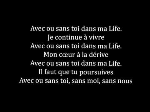Nesly & Marvin  '' Dans ma life ''(lyrics video)