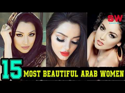 Top 15 Most Beautiful Arab Women !
