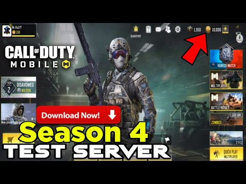 Season 4 Test Server Call Of Duty Mobile How To Download Season