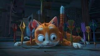 «Кот Гром и заколдованный дом» 2013  Трейлер  Мультфильм