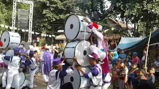 Drumband to Al Azhar Kemuning full atraksi di Nurul Hamdi
