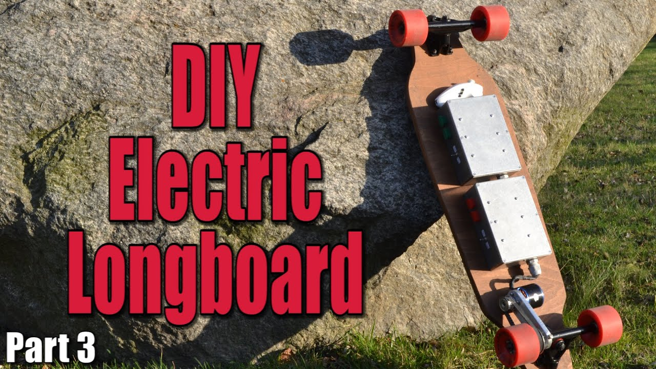 medium resolution of make your own electric motorized longboard part 3 the wiring remote control