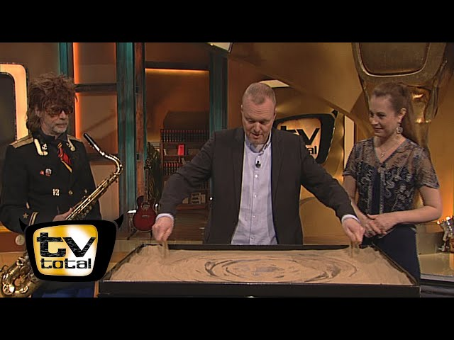 Sandkunst mit Aljona Voynova - TV total