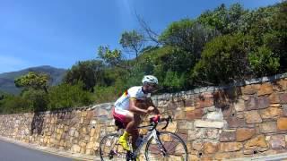 Manuel Fumic on Chapmans Peak Cape Town