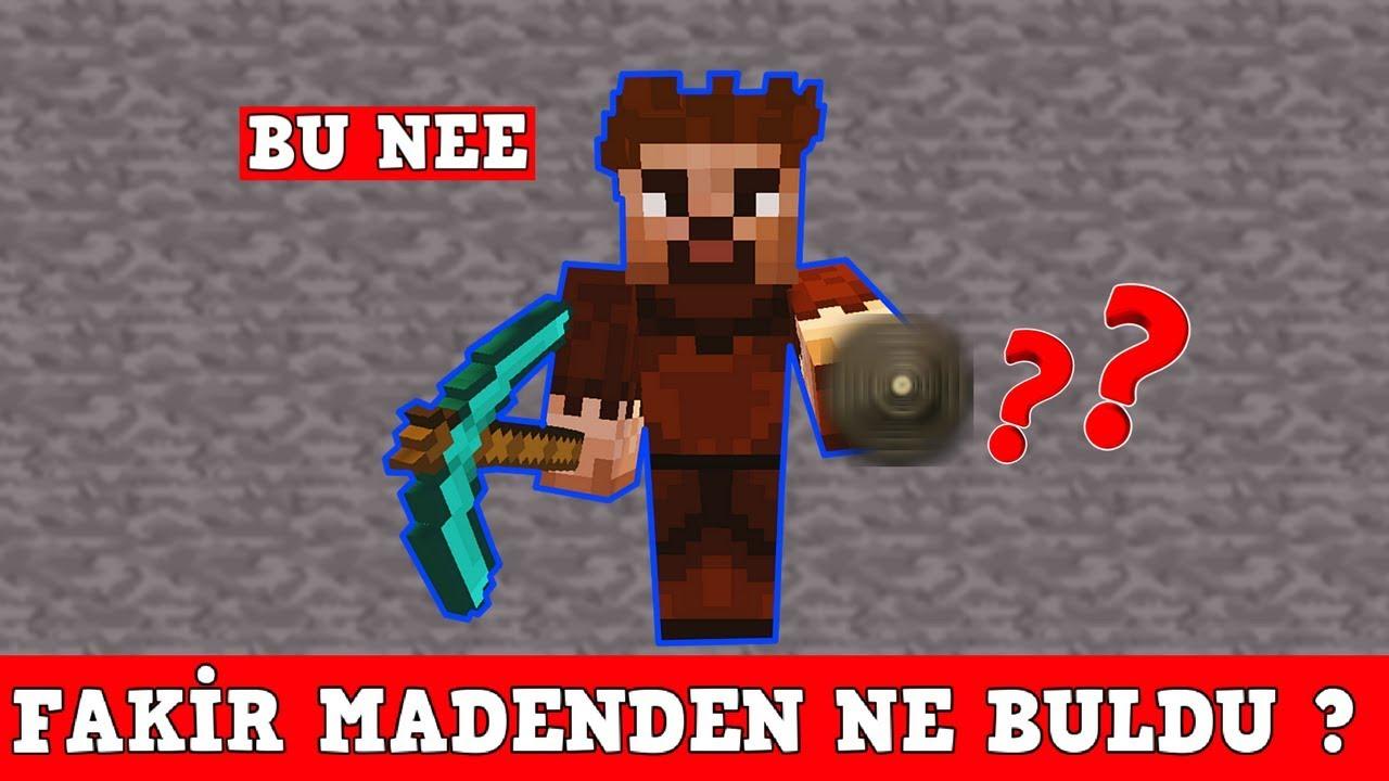 Zengin Vs Fakir 113 Fakir Madenden Ne Buldu Minecraft Youtube