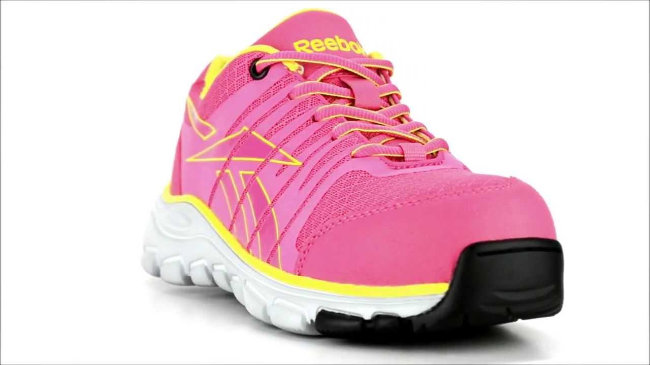 Women s Reebok RB458 Composite Toe Metal Free Work Shoe   Steel-Toe-Shoes .com 7e53710ed