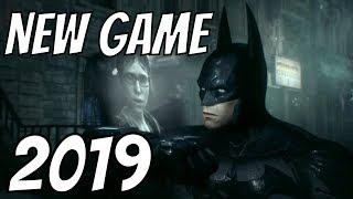 NEW PS4 BATMAN ARKHAM GAME 2019 CONFIRMED?!
