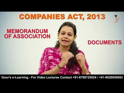 """Incorporation of Company"" by Prof. Khushboo Sanghavi - Contact +91-8788725024 / +91-9029050693"