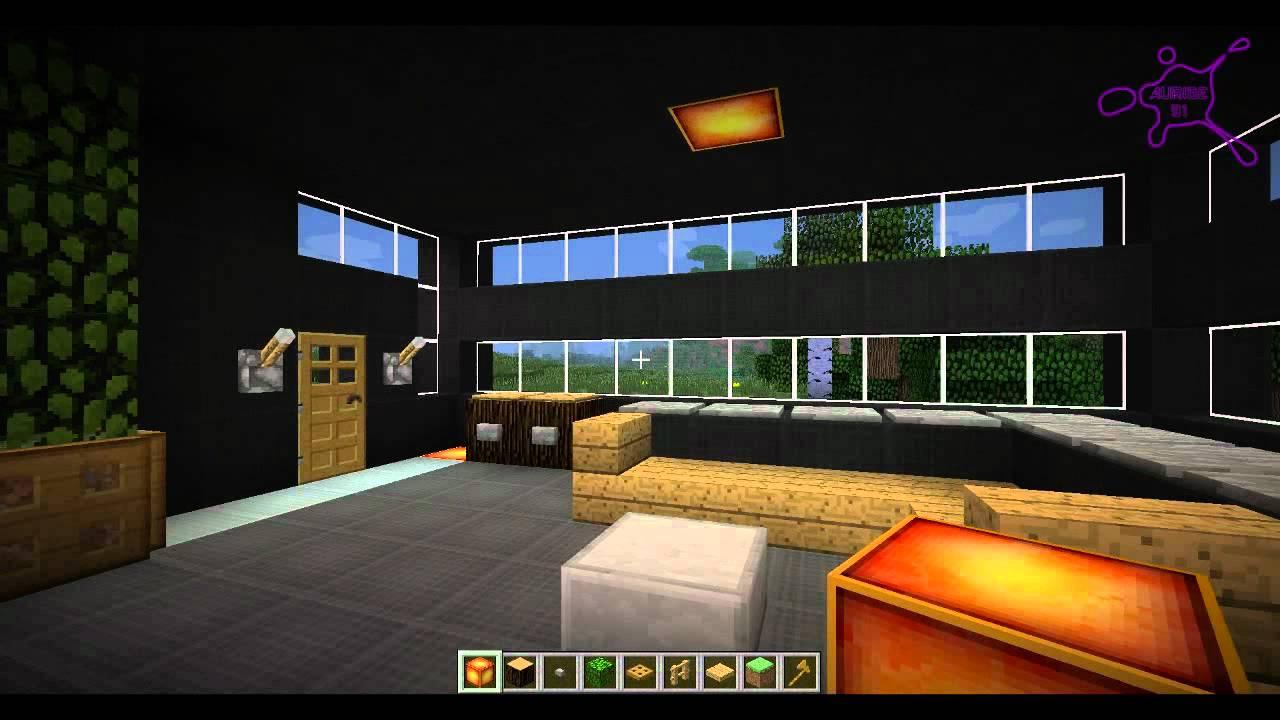 Minecraft Tuto Maison Moderne N 6 Youtube