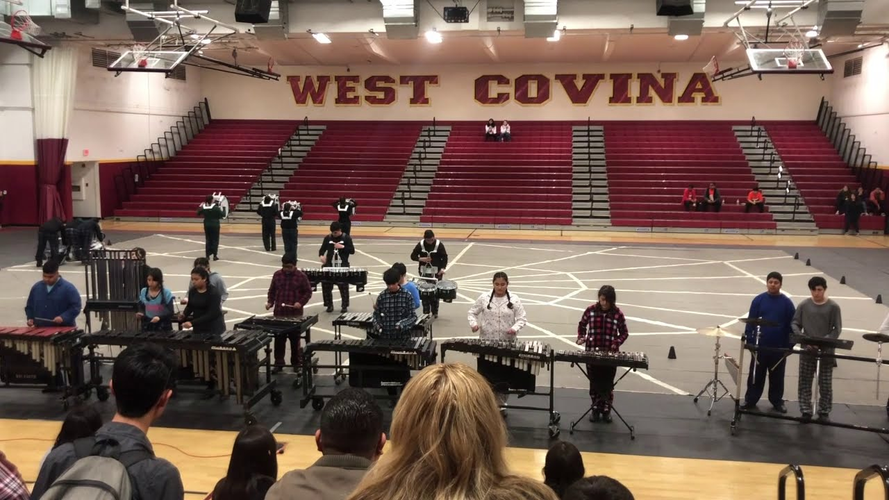 "2020 Huntington Park High School Indoor Drumline - ""Twinkle, Twinkle"""
