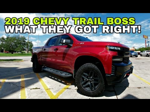 Final Thoughts on the 2019 Silverado Trail Boss!