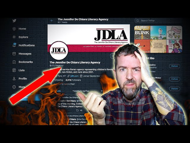 LITERARY CANCEL CULTURE EXPOSED! JDLA FIRES AGENT BECAUSE SHE'S ON GAB AND PARLER!!!