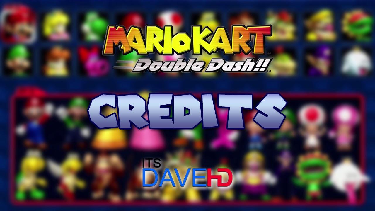 Mario Kart Double Dash Staff Credit Remake