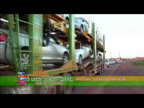 Trans Pacific Motor Spares & Auto Sales Inc. to Lethem Region 9 in Guyana PT. 2