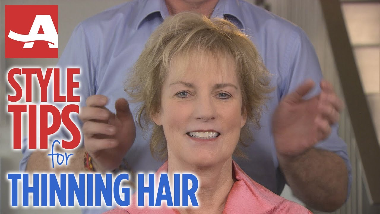 styling thinning hair style tips for thinning hair best of everything aarp 8705