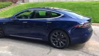 Tesla Model S P100D Test Drive