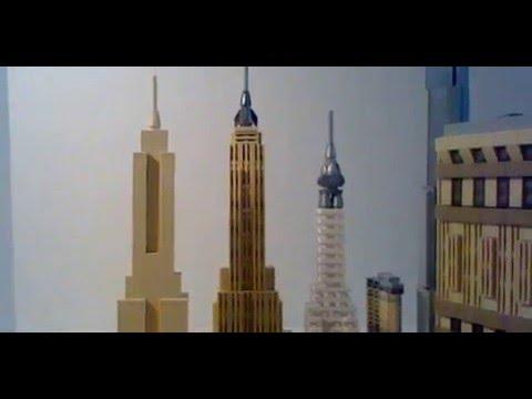 Lego architecture 21028 new york city skyline set review for Lego architecture new york