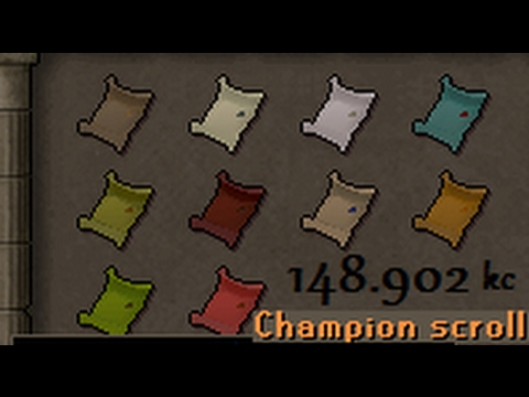 RTC OSRS #35 - Champion Scrolls FINISHED! - Comp Cape Stuff