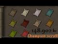 RTC OSRS #35 - Champion Scrolls FINISHED! - Comp Cape Stuff