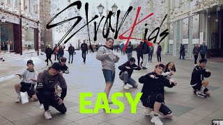 [K-POP IN PUBLIC] [ONE-TAKE] Stray Kids(스트레이 키즈) - 'Easy' | Dance Cover by TORNADO | RUSSIA